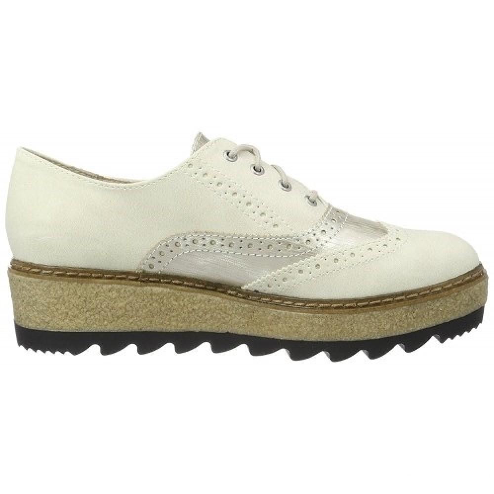 Туфли броги Tamaris 1-23698-37 бежевые