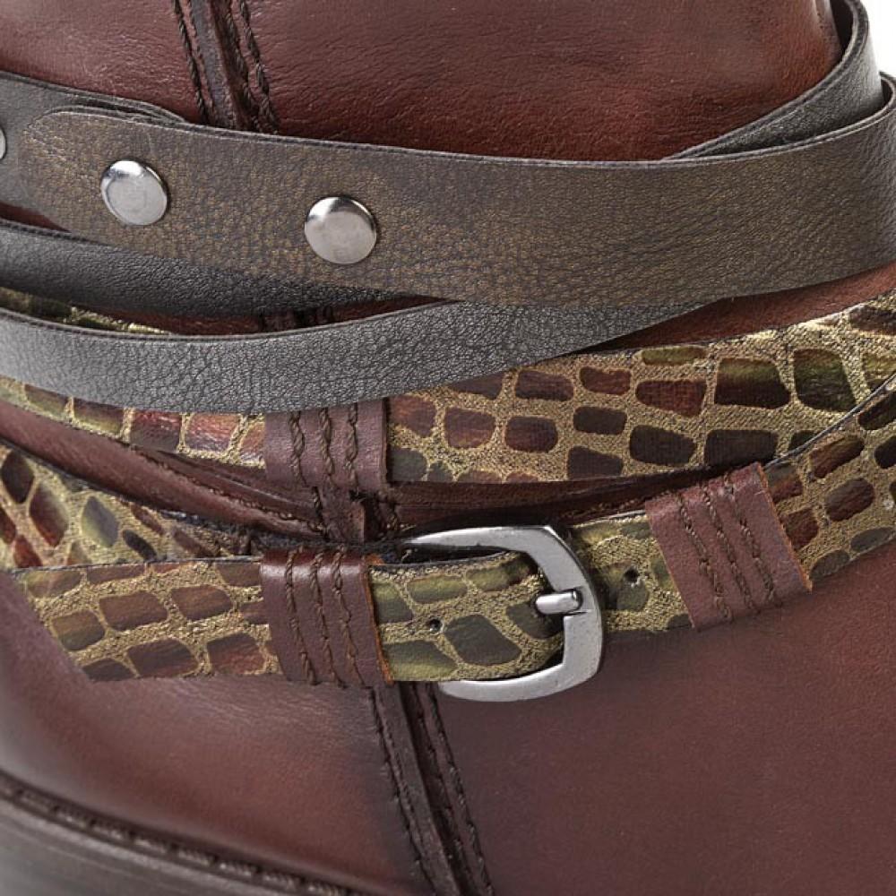 Ботинки женские Tamaris 1-25374-23 коричневые