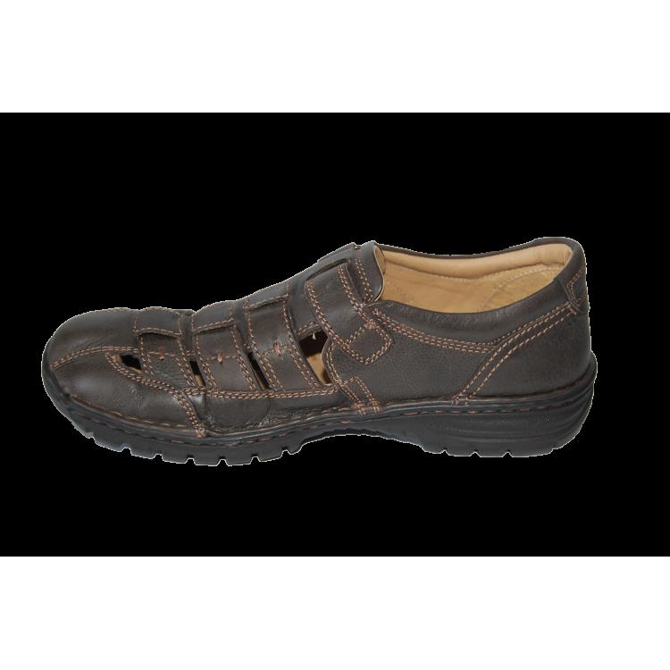 Туфли Longo 19510 коричневые