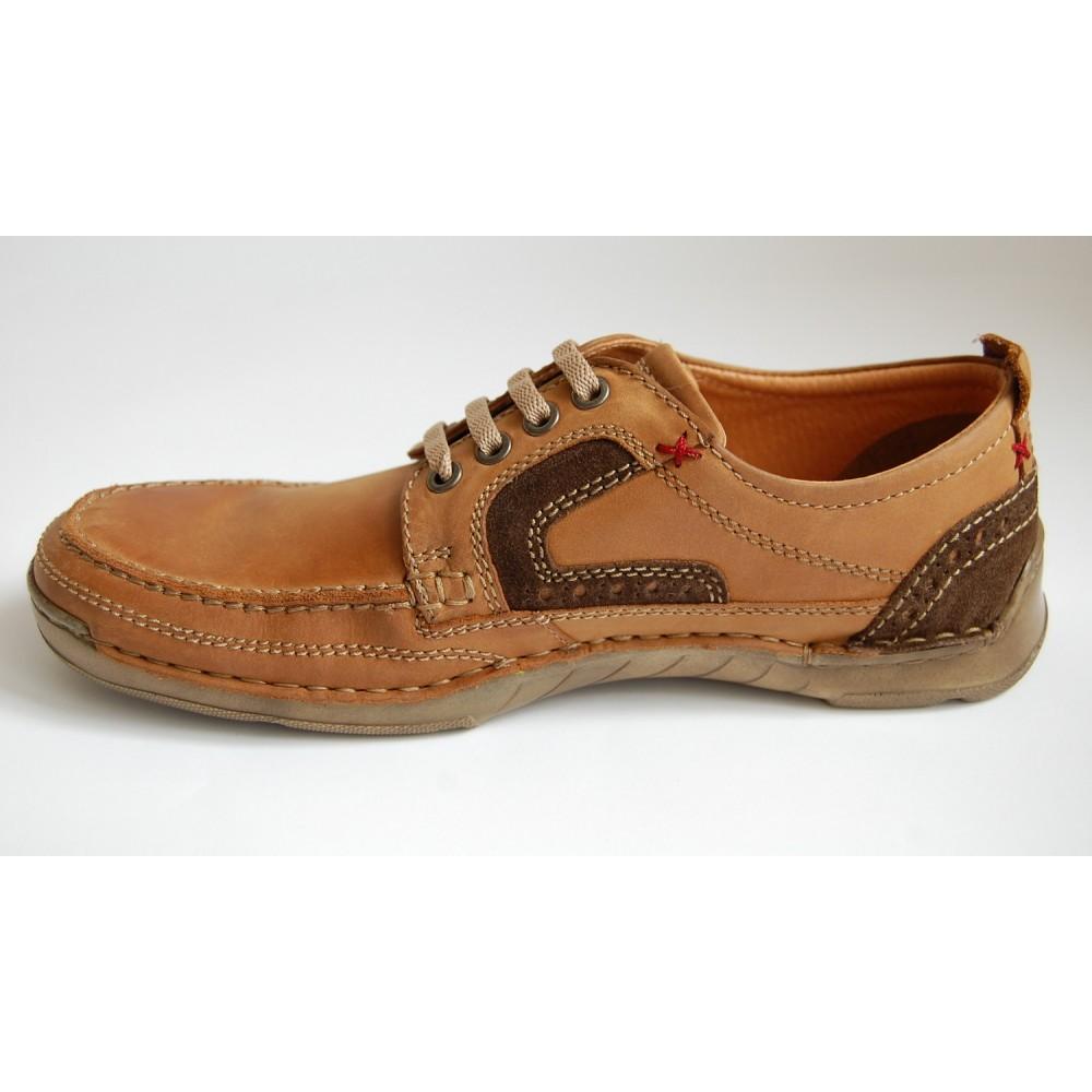 Туфли Longo 19516 рыжие