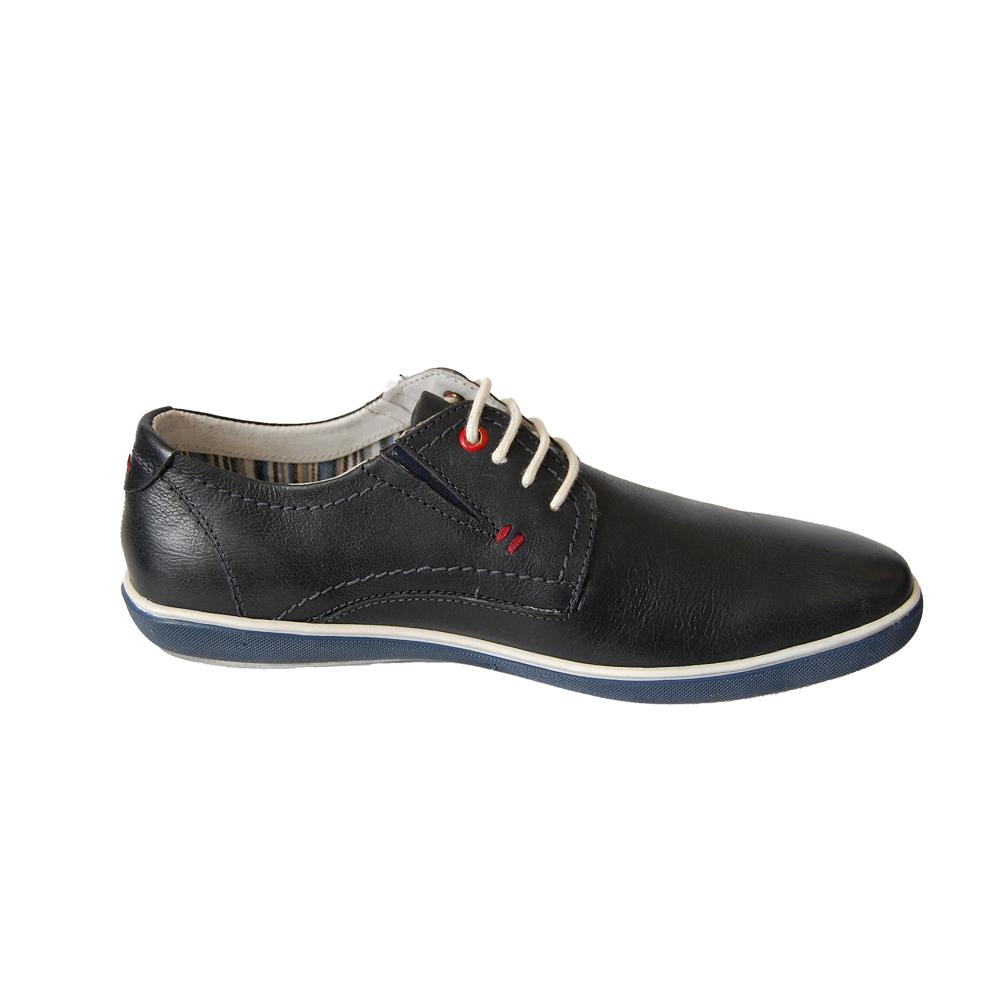 Туфли Longo 19519 Navy черные