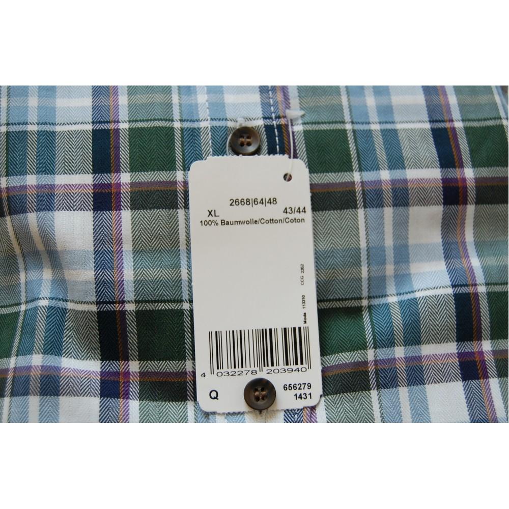 Рубашка Marvelis 2668-64-48 разноцветная в клетку