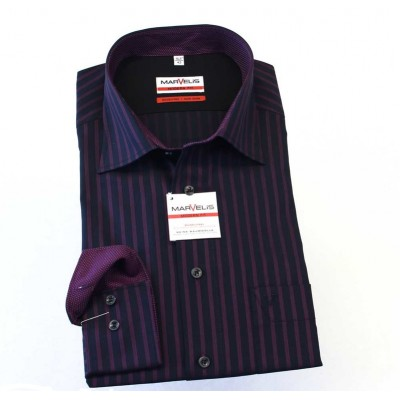 Рубашка Marvelis Modern Fit 2722-64-98 синяя
