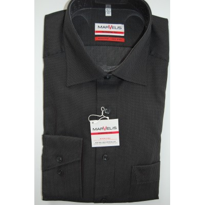 Рубашка мужская Marvelis Modern Fit 2724-64-68 черная