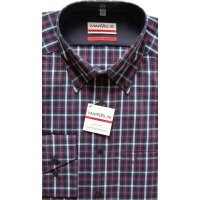 Рубашка Marvelis Modern Fit 2726-64-98 фиолетовая