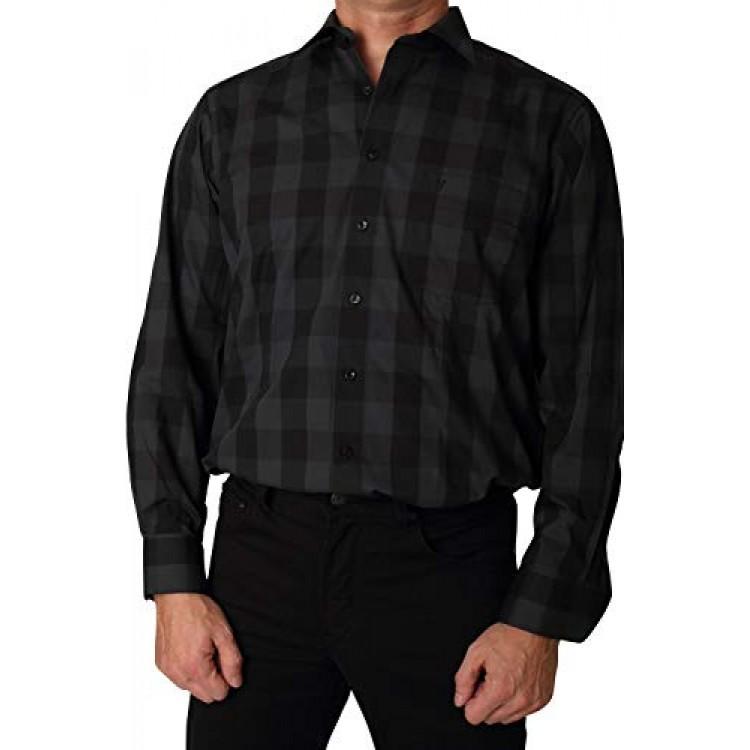 Рубашка Marvelis Modern Fit 2728-64-67 темно серая