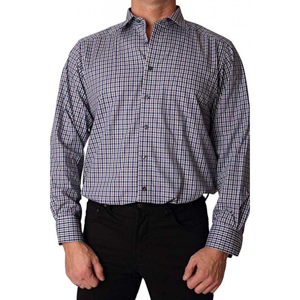 Рубашка Marvelis Modern Fit 2742-64-18 разноцветная в клетку