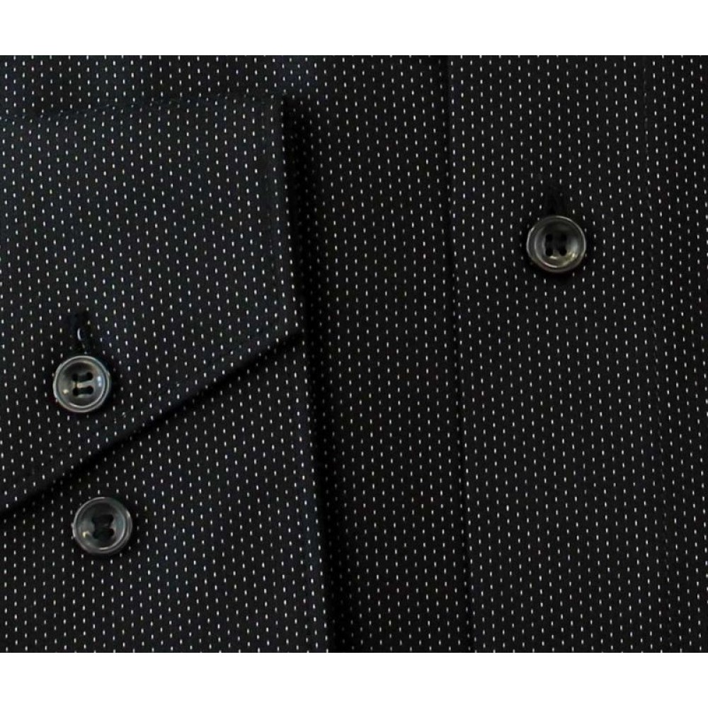 Рубашка мужская Marvelis Comfort Fit 2924-64-68 черная