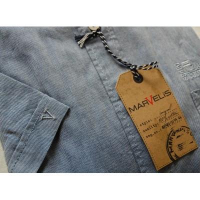 Рубашка Marvelis 3639-12-15 серая