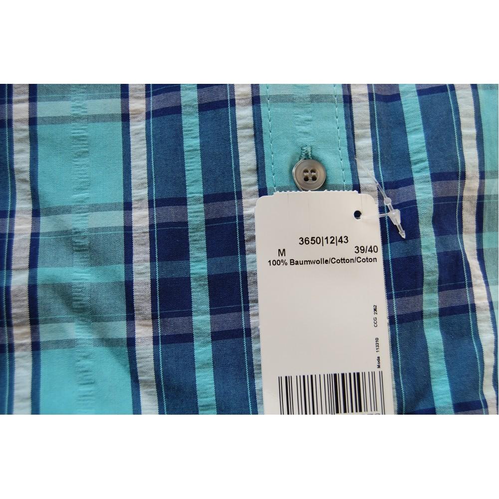 Рубашка Marvelis 3650-12-43 разноцветная в клетку