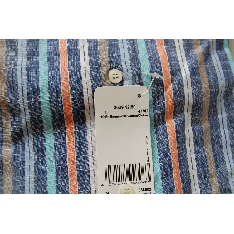 Рубашка Marvelis 3669-12-80 разноцветная