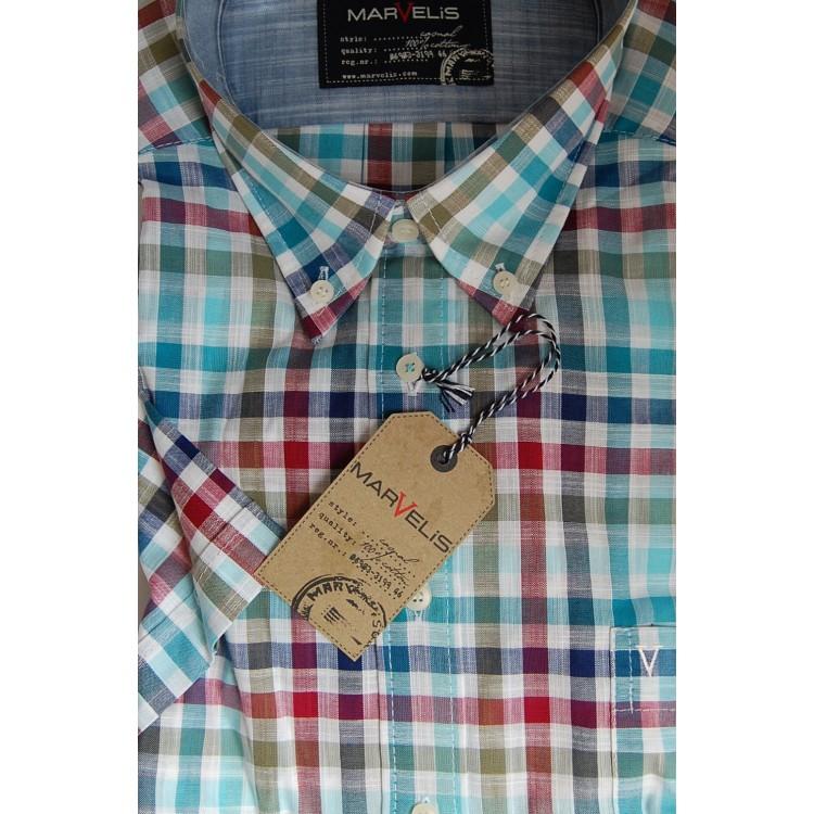 Рубашка Marvelis 3671-12-26 разноцветная