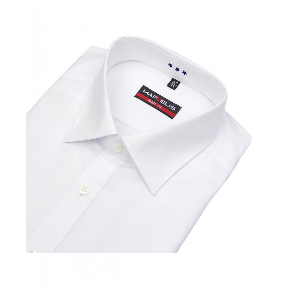 Рубашка Marvelis Body Fit 6799-64-00  белая с воротом Kent