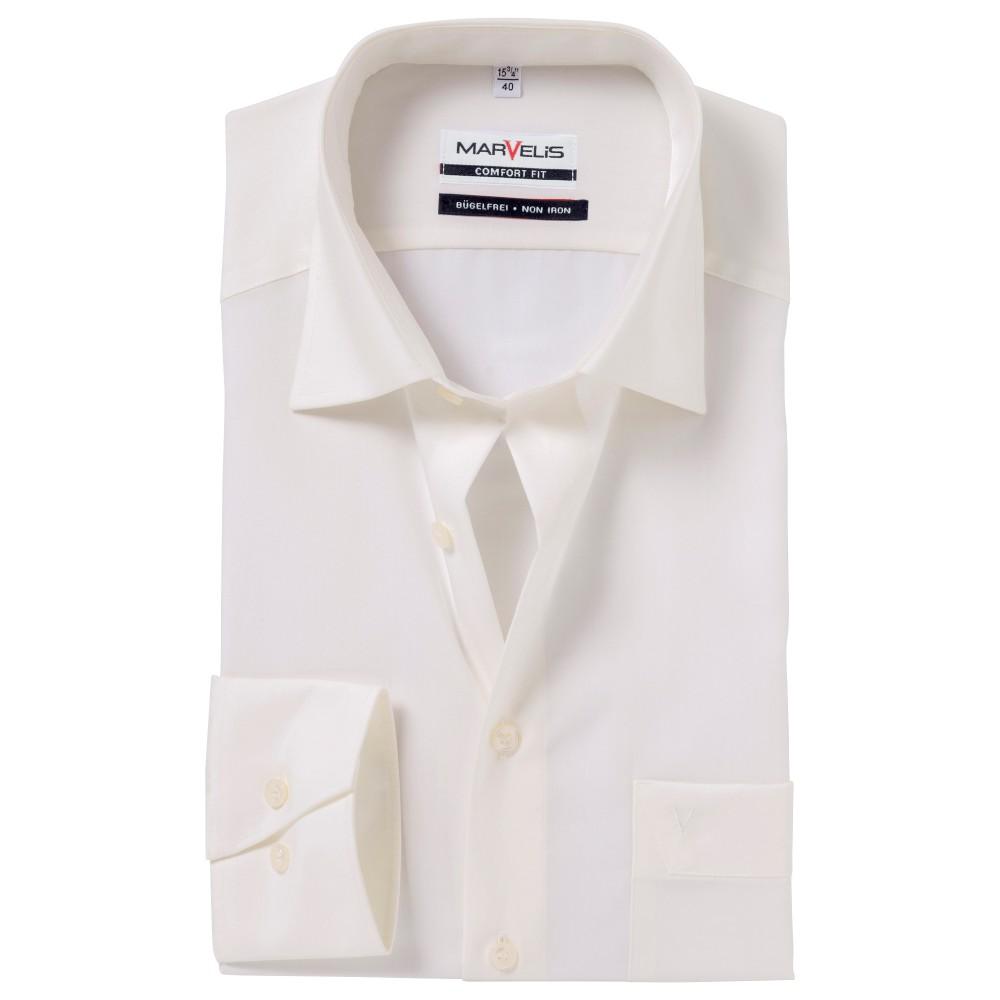 Рубашка Marvelis Comfort Fit 7973-64-20 бежевая