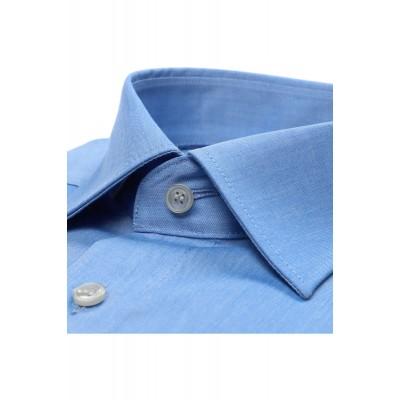 Рубашка мужская Marvelis Comfort Fit 7959-64-13  голубая