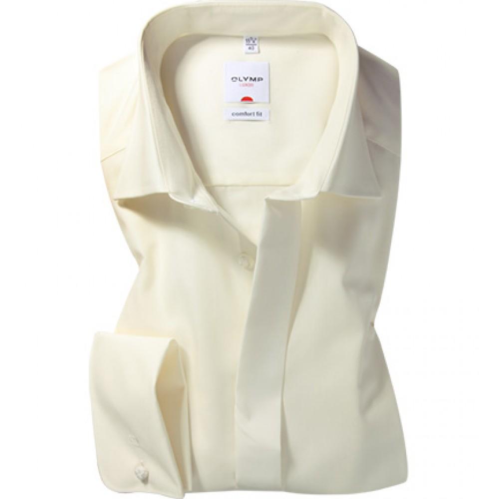 Рубашка мужская Olymp Luxor Comfort Fit 0250-64-21 бежевая