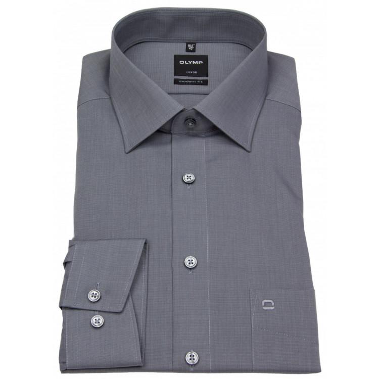 Рубашка Olymp Luxor Modern Fit 0302-64-60 серая