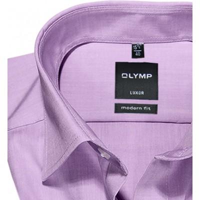 Рубашка Olymp Luxor Modern Fit 0304-12-71 светло сиреневая