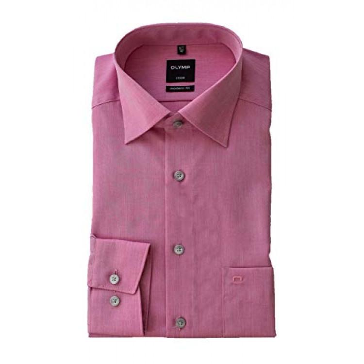 Рубашка Olymp Luxor Modern Fit 0304-64-70 светло фиолетовая