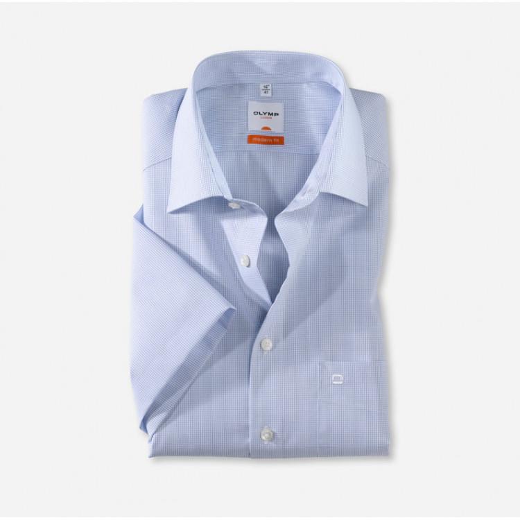 Рубашка Olymp Luxor Modern Fit 0316-12-11 голубая