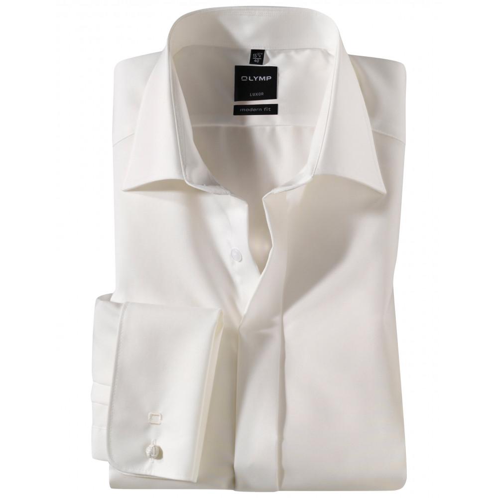 Рубашка Olymp Luxor Modern Fit 0394-64-21 бежевая