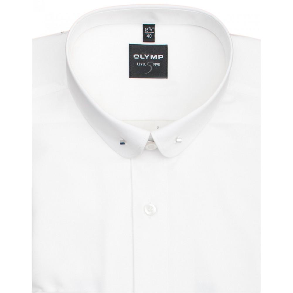 Рубашка мужская Olymp Level Five Body Fit 2067-64-00 белая