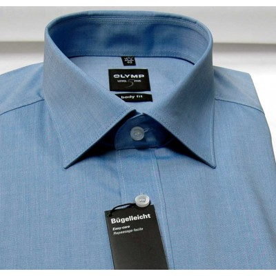 Рубашка мужская Olymp Level Five Body Fit 2080-69-19 голубая