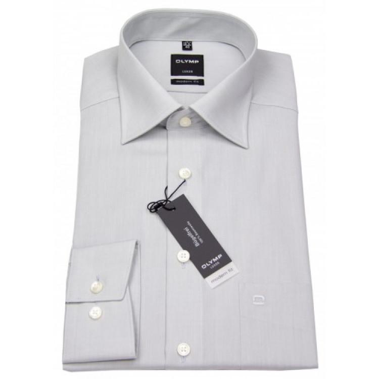 Рубашка Olymp Luxor Modern Fit 0304-64-63 серая