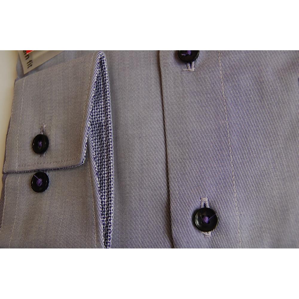 Рубашка мужская Olymp Luxor  Modern Fit 2308-64-83 светло фиолетовая