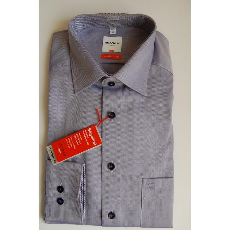 Рубашка Olymp Luxor  Modern Fit 2308-64-83 светло фиолетовая