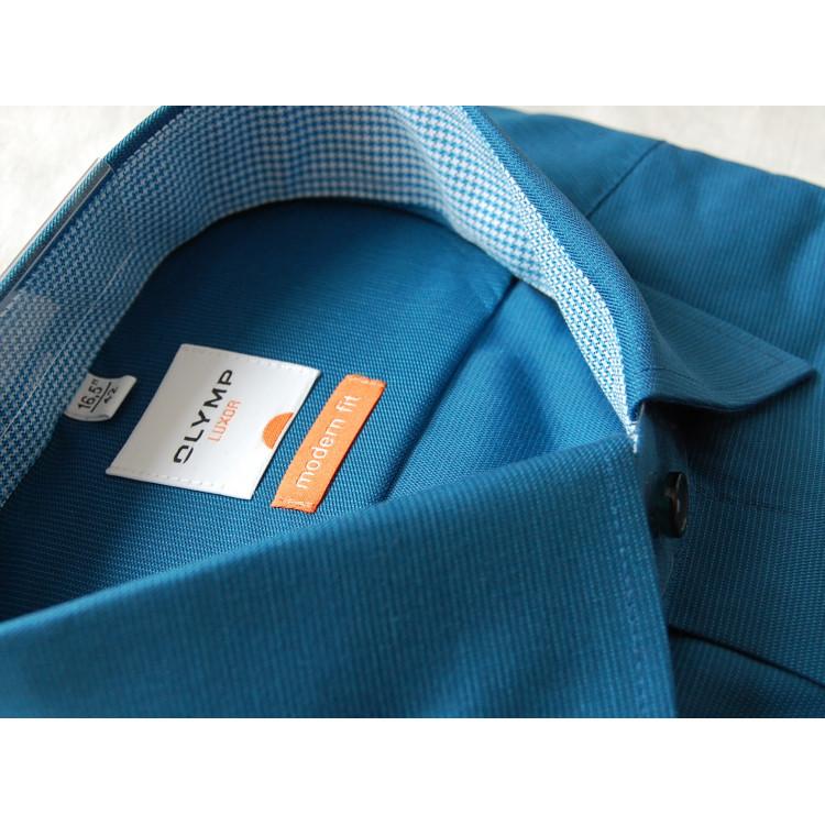 Рубашка Olymp Luxor  Modern Fit 2319-64-16 бирюзовая