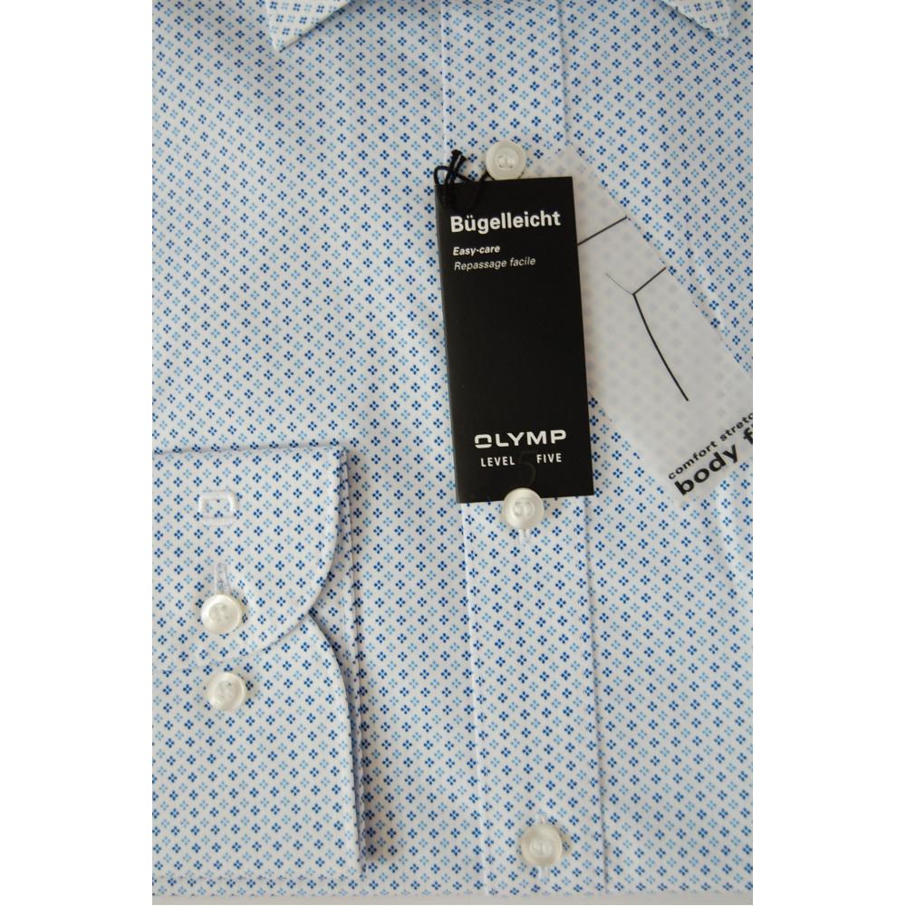 Рубашка мужская Olymp Level Five Body Fit 3008-64-11 белая