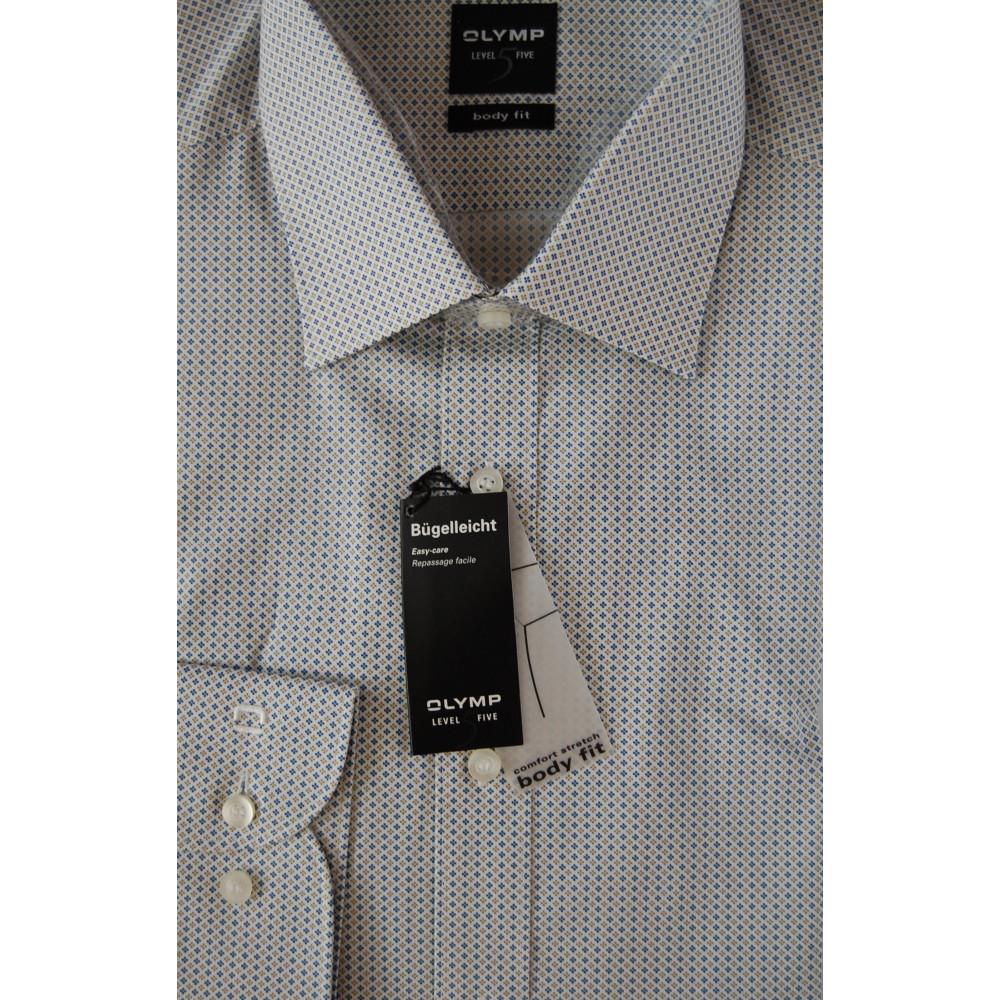 Рубашка мужская Olymp Level Five Body Fit 3008-64-26 белая