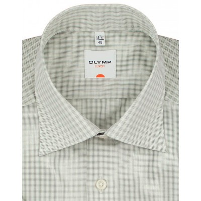 Рубашка Olymp Luxor Modern Fit 3346-12-26 бежевая