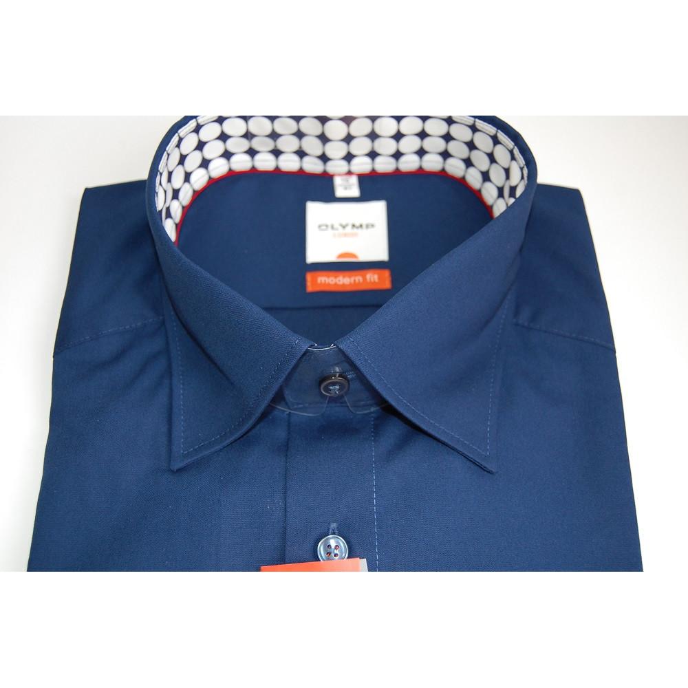 Рубашка мужская Olymp Luxor  Modern Fit 3350-64-19 в синюю клетку