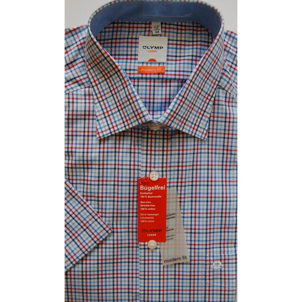 Рубашка Olymp Luxor Modern Fit 3356-12-79 разноцветная в клетку