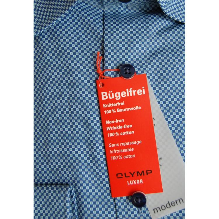 Рубашка Olymp Luxor Modern Fit 3385-64-41 голубая