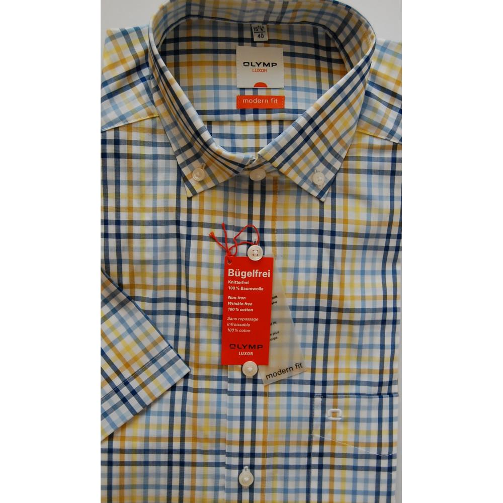 Рубашка Olymp Luxor Modern Fit 3393-12-11 разноцветная в клетку
