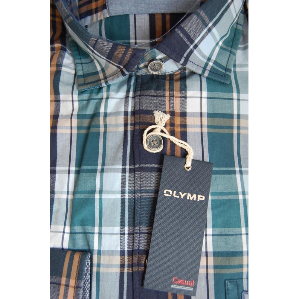 Рубашка Olymp 4402-64-88 разноцветная в клетку