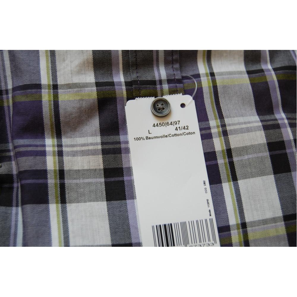Рубашка Olymp 4450-64-97 разноцветная в клетку