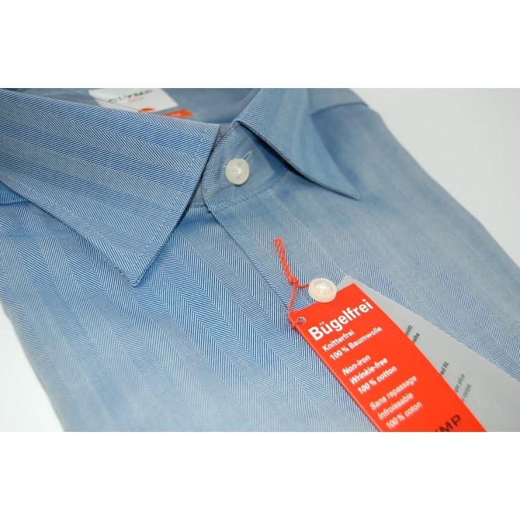 Рубашка Olymp Luxor  Modern Fit 2374-64-19 голубая