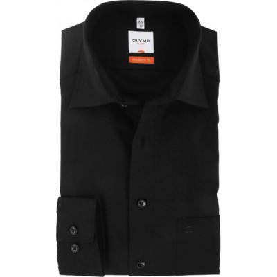 Рубашка мужская Olymp Luxor Modern Fit черная
